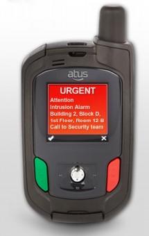 Messagerie d'alarme sur ATUS PSD