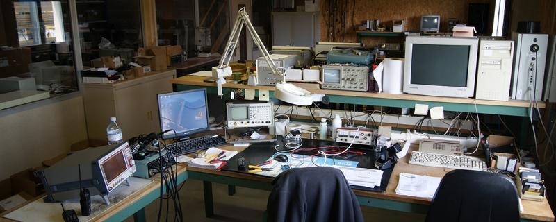 Atelier de dépannage électronique