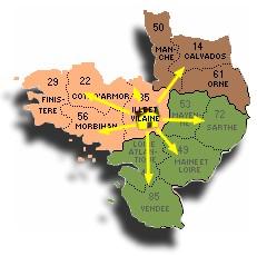 Carte ouest Wisucam