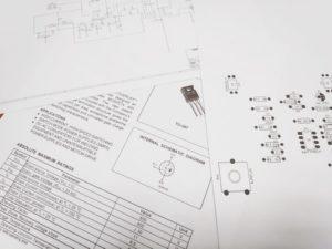 Schema carte électronique pour dépannage