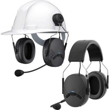 Casque anti bruit communicant intercom 4 voies