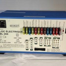 Centrale Electroblock SCHAUDT EBL 269