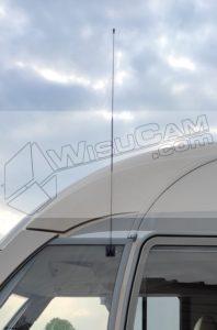 Antenne sans percage camping car