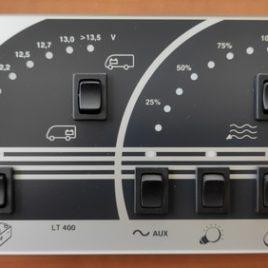 Panneau de controle SCHAUDT LT400